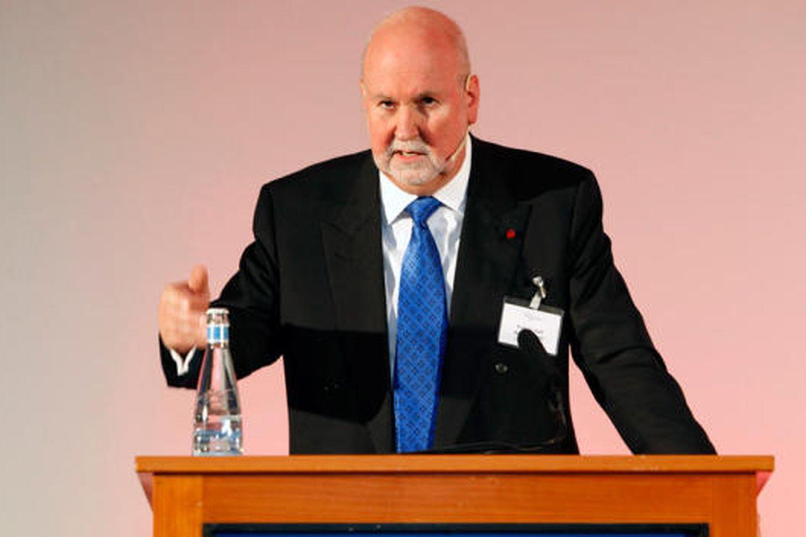 Carl Baudenbacher, fyrrverandi forseti EFTA-dómstólsins