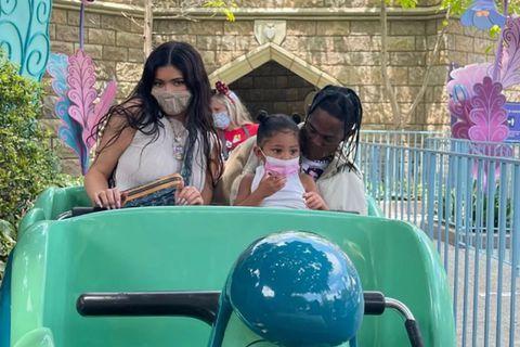 Kylie Jenner, Stormi Jenner-Scott, Travis Scott