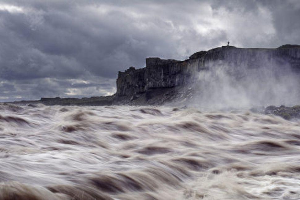 Gríðarlegir vatnavextir eru í Jökulsá á Fjöllum.