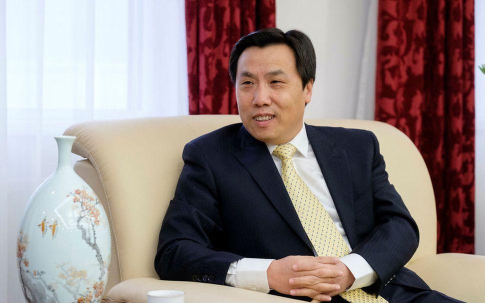Jin Zhijian, sendiherra Kína á Íslandi.