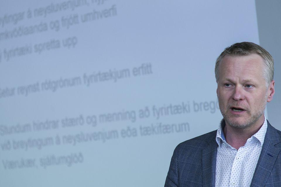 Andri Guðmundsson, forstjóri Ölgerðarinnar.