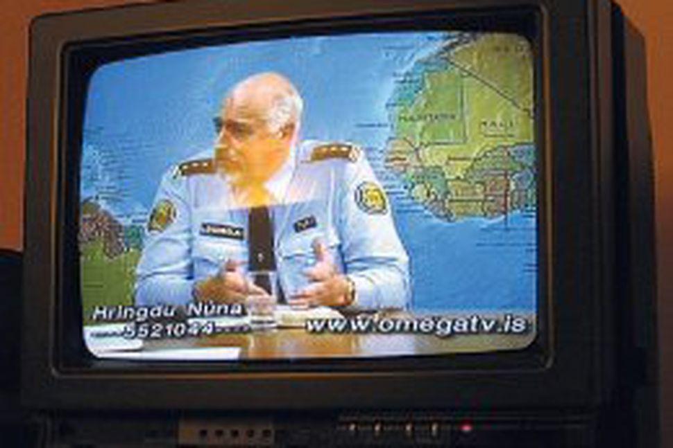 Geir Jón á Omega