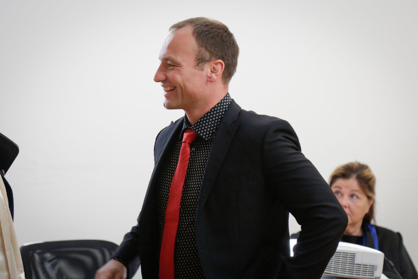 Sebastian Kunz réttarmeinafræðingur.