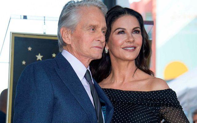 Stórglæsileg þau Michael Douglas og Catherine Zeta-Jones.