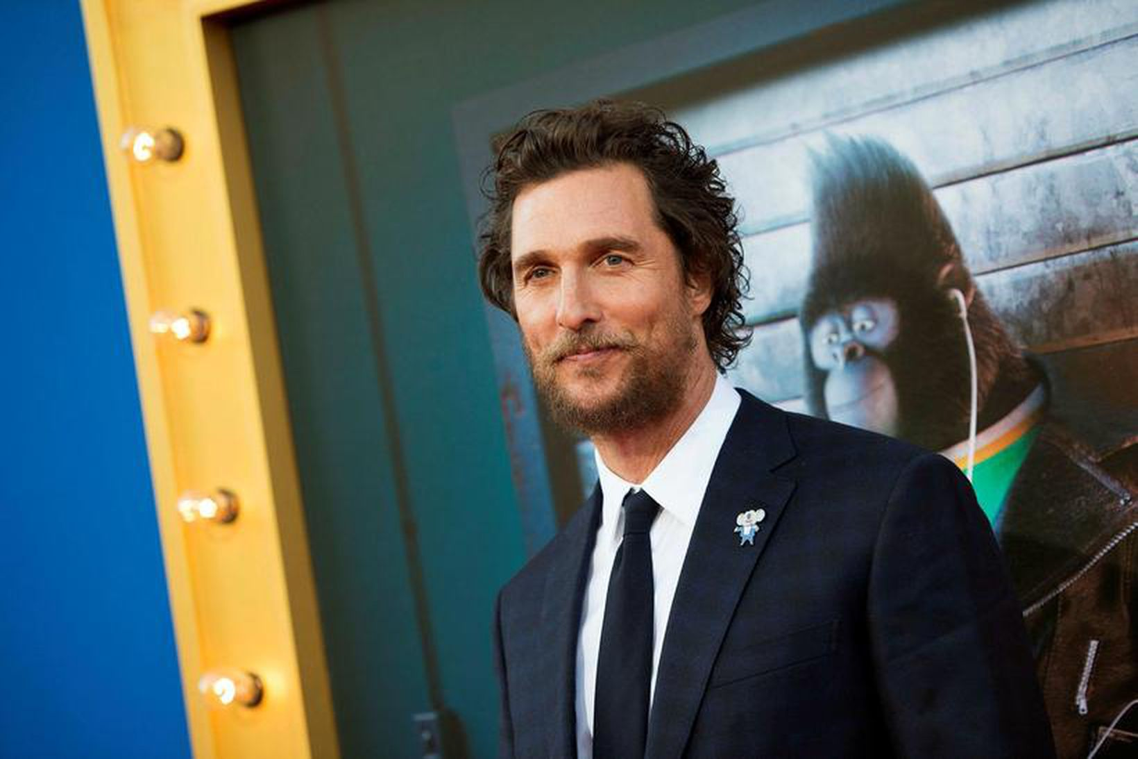 Matthew McConaughey hefur kysst Kate Hudson á hvíta tjaldinu.