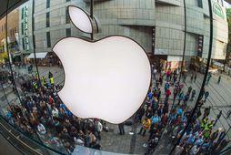 Apple vörur eru eftirsóttar.