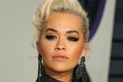 Rita Ora varð þrítug á dögunum.