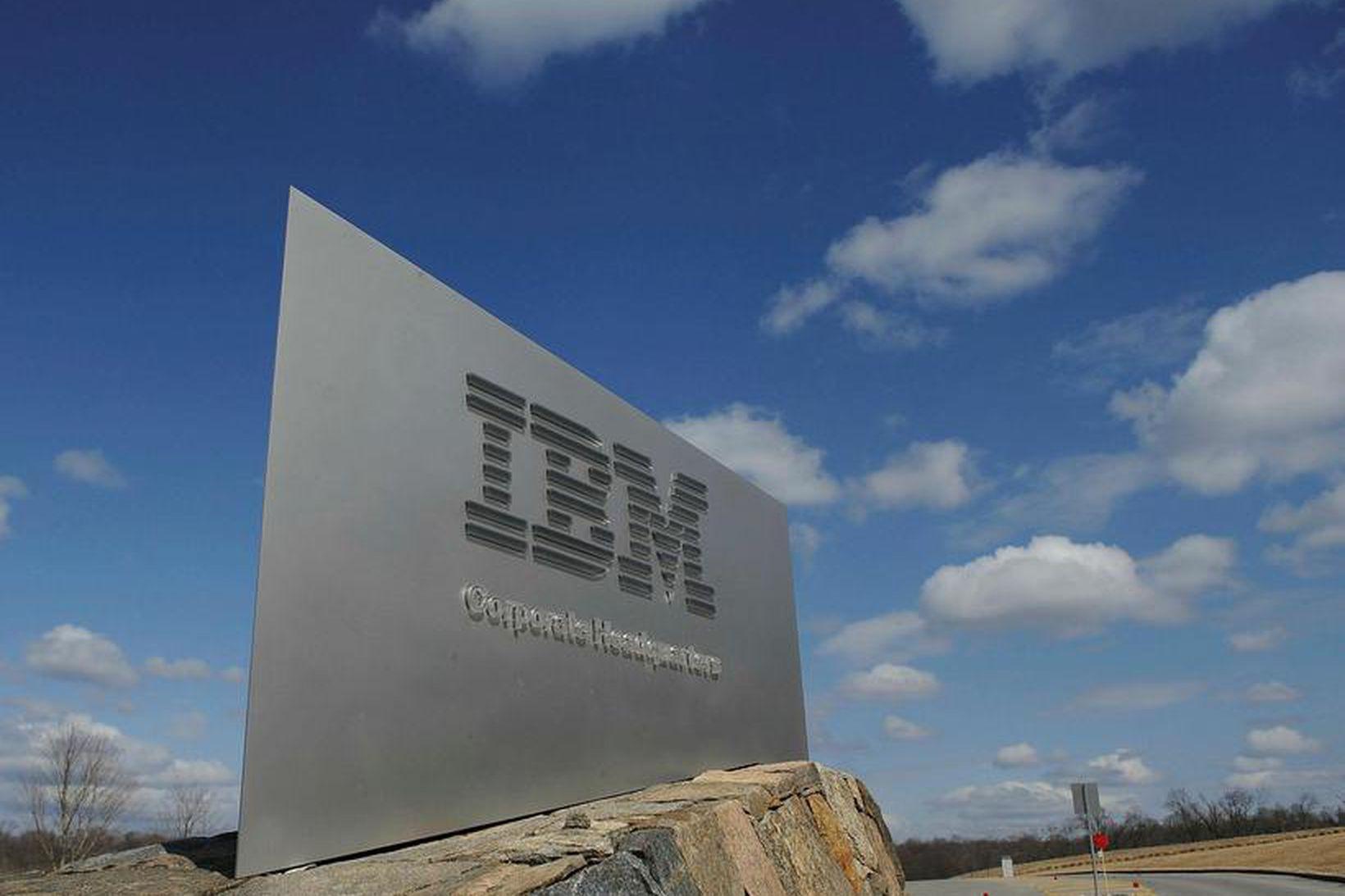Vörumerkis IBM.