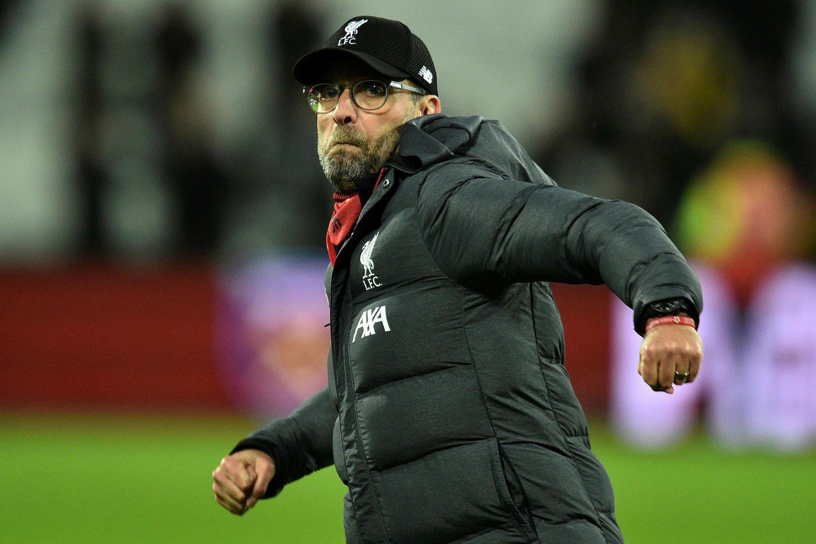Jürgen Klopp er gríðarlega vinsæll hjá stuðningsmönnum Liverpool.