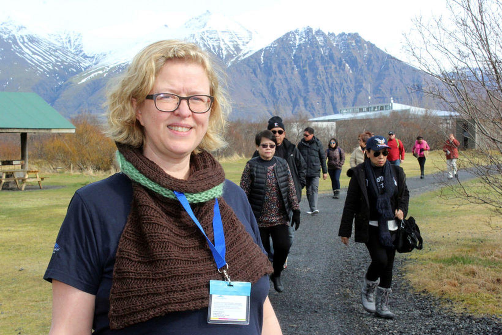 Sigrún Sigurgeirsdóttir, landvörður í Vatnajökulsþjóðgarði, er fædd og uppalin í …