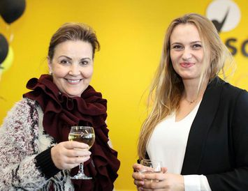 Gunnhildur Arnardóttir og Agata Knasiak.
