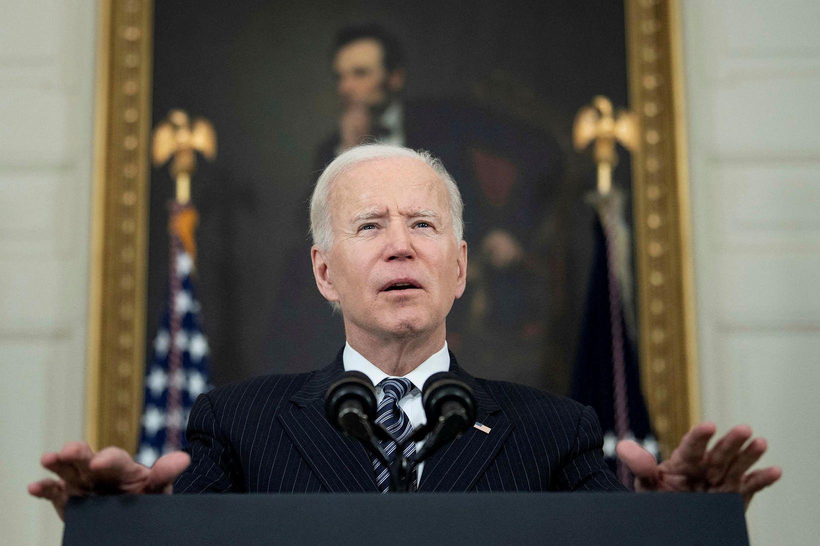 Joe Biden Bandaríkjaforseti.