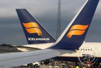 Icelandair - flug - Flugleiðir -
