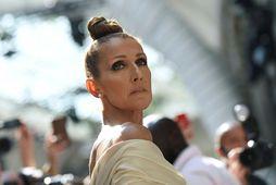 Celine Dion er ekki tilbúin til þess að hitta aðra menn.