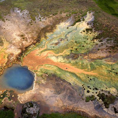 Geothermal areas