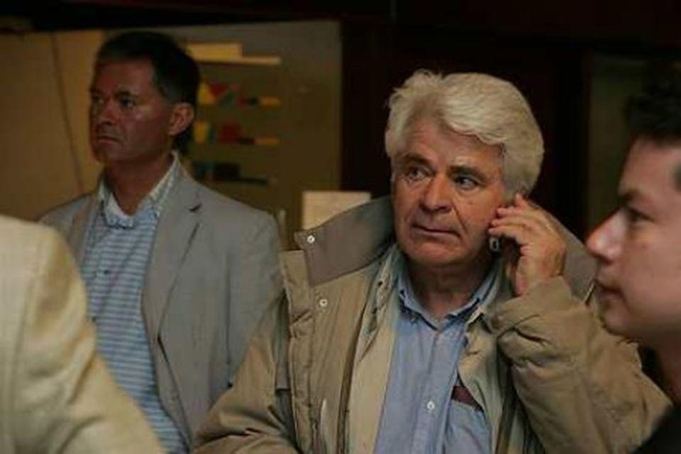 Boris Spassky kom til Íslands árið 2006 og hitti Fischer.