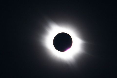 A total solar eclipse in Egypt, March 2006.