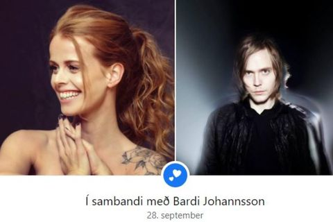 Elísabet og Barði eru í sambandi.
