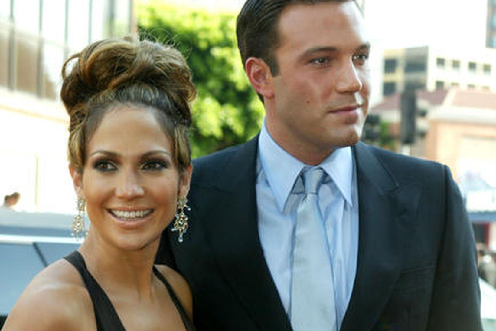Jennifer Lopez ásamt Ben Affleck árið 2003.