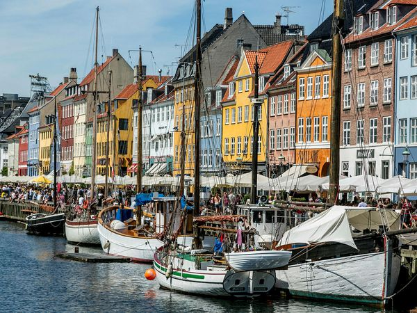 From Copenhagen, which may be among the first cities to which air service will be offered.