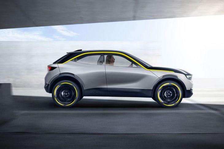 Opel GT X Experimental smájeppinn. Í þessum dúr verða Opelbílar framtíðarinnar hannaðir.