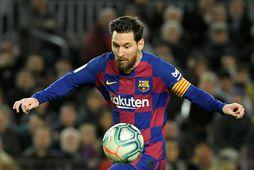 Lionel Messi hefur efni á að láta ögn af hendi ragna.