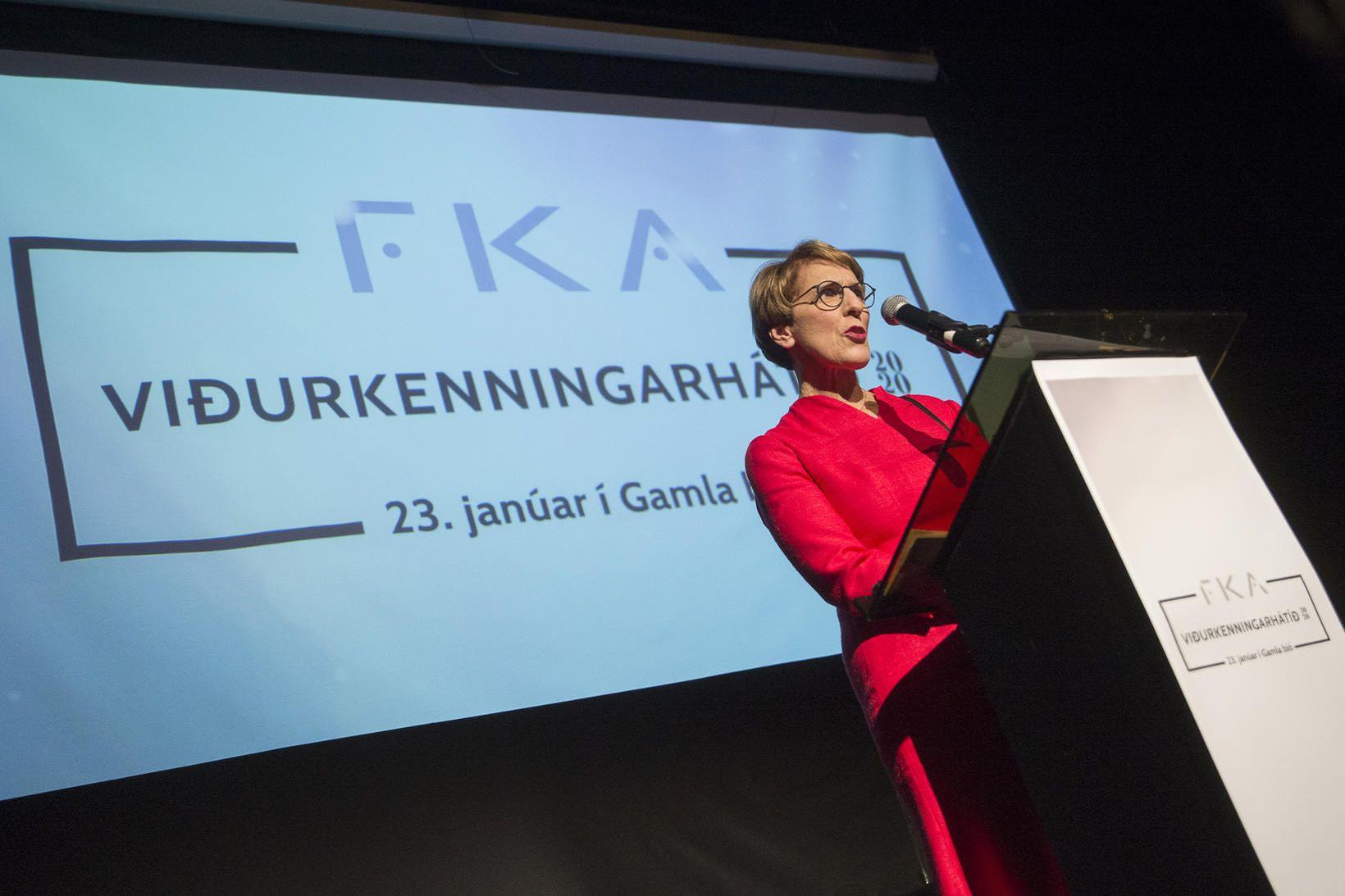 Frá síðustu viðurkenningahátíð FKA, fyrr á þessu ári.