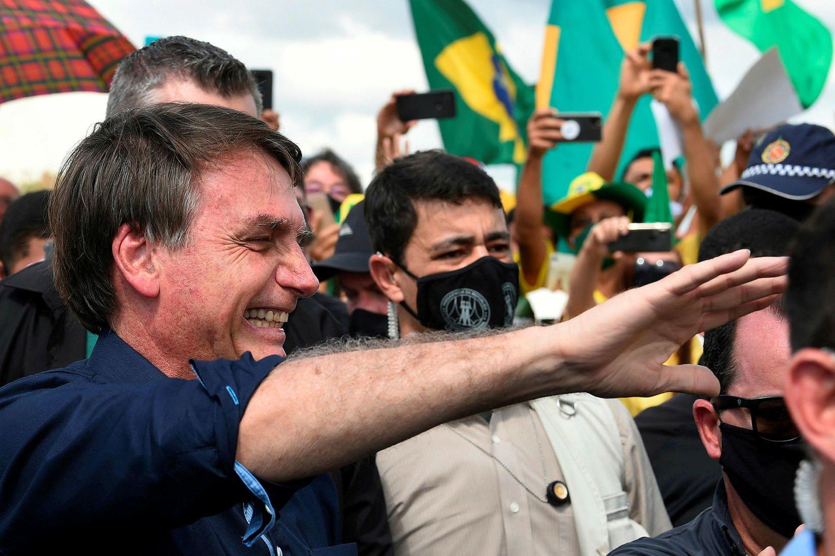 Jair Bolsonaro, forseti Brasilíu.