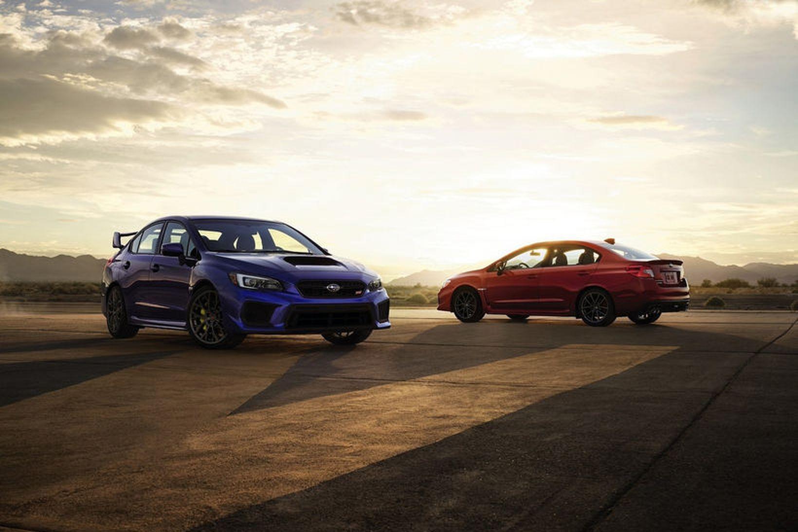 Subaru WRX er sportlegur og til hraðaksturs kjörinn. Allir ættu …