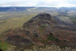 Helgafell við Hafnarfjörð.