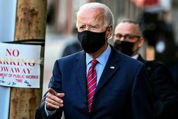 Joe Biden, kjörinn forseti Bandaríkjanna.