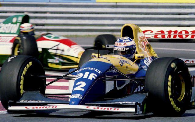 Alain Prost varð á sínum tíma fjórum sinnum heimsmeistari í formúlu-1. Hér er hann á …