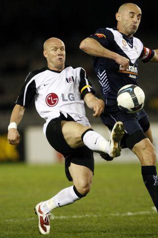 Andrew Johnson í leik með Fulham.