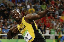 Usain Bolt er að verða faðir.