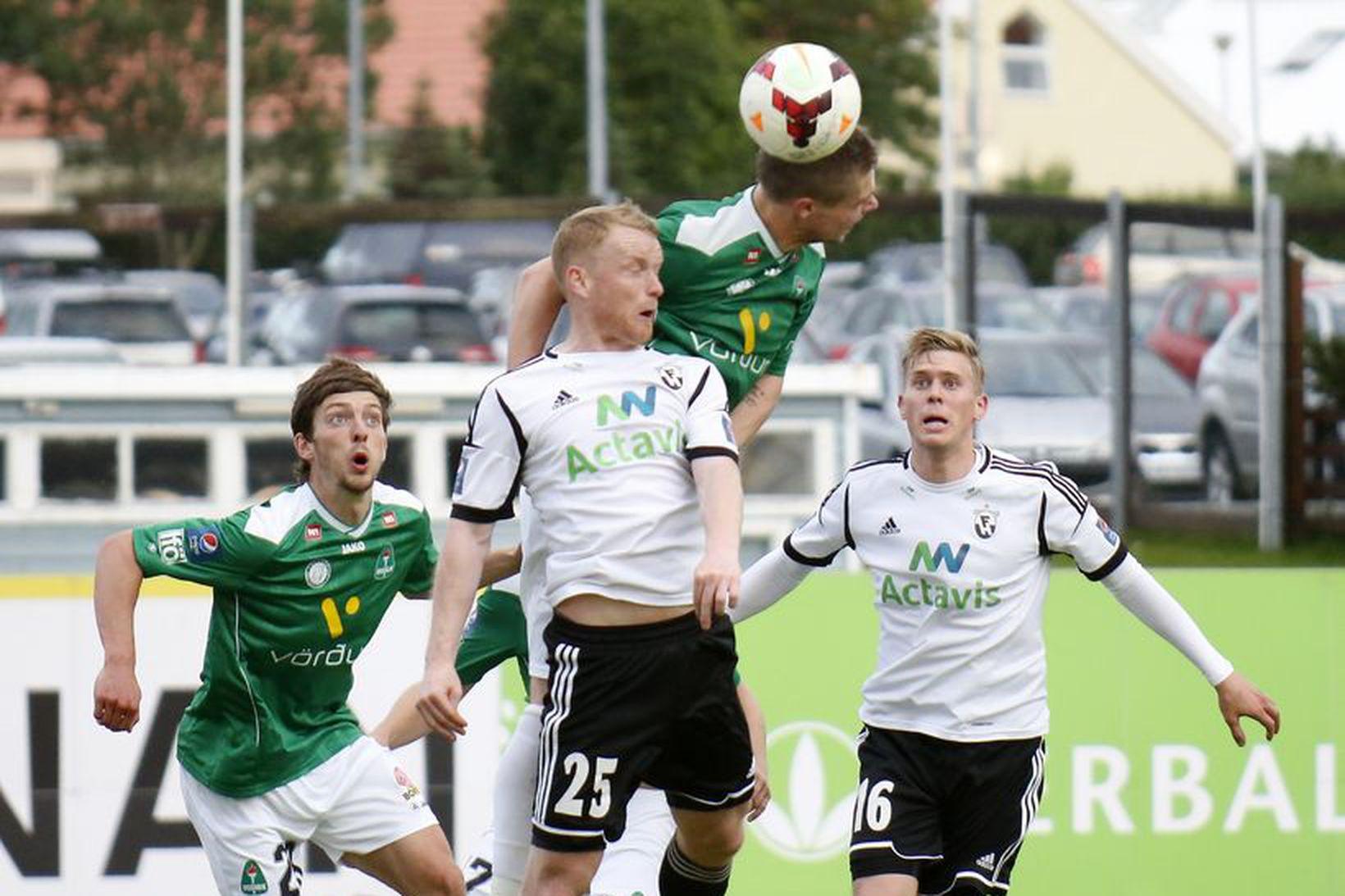 Arnór Sveinn Aðalsteinsson, Hólmar Örn Rúnarsson og Jón Ragnar Jónsson …