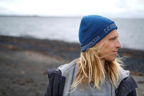 Heiðar Logi Elíasson is Iceland's first pro-surfer.