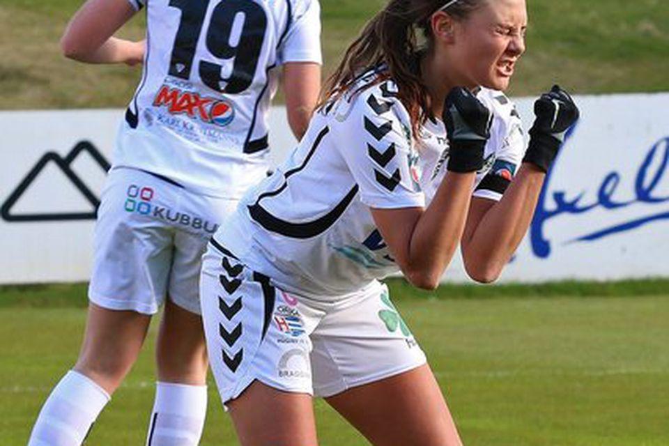 Kristín Erna Sigurlásdóttir er komin til Fylkis frá ÍBV.
