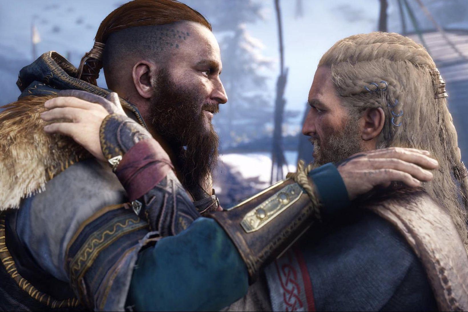 Sigurd og Eivor í Assassin´s Creed: Valhalla.