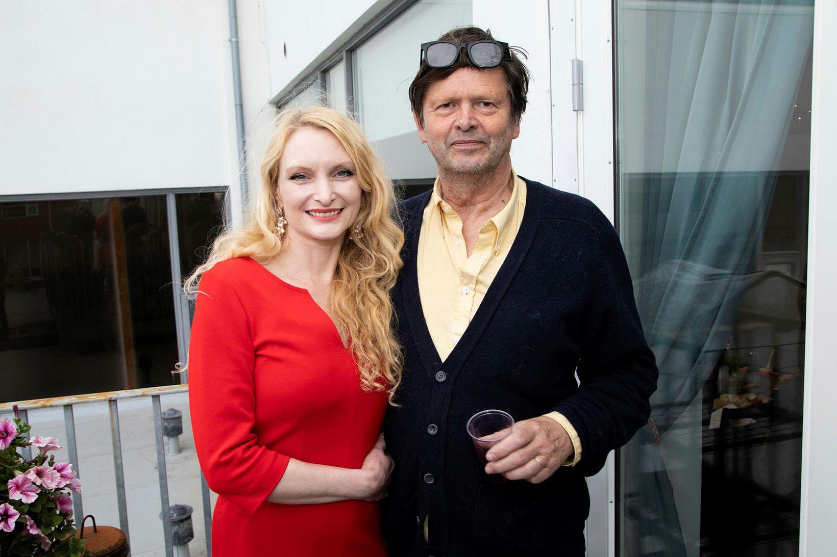 Rakel Halldórsdóttir og Helgi Þorgils, eiginmaður hennar.