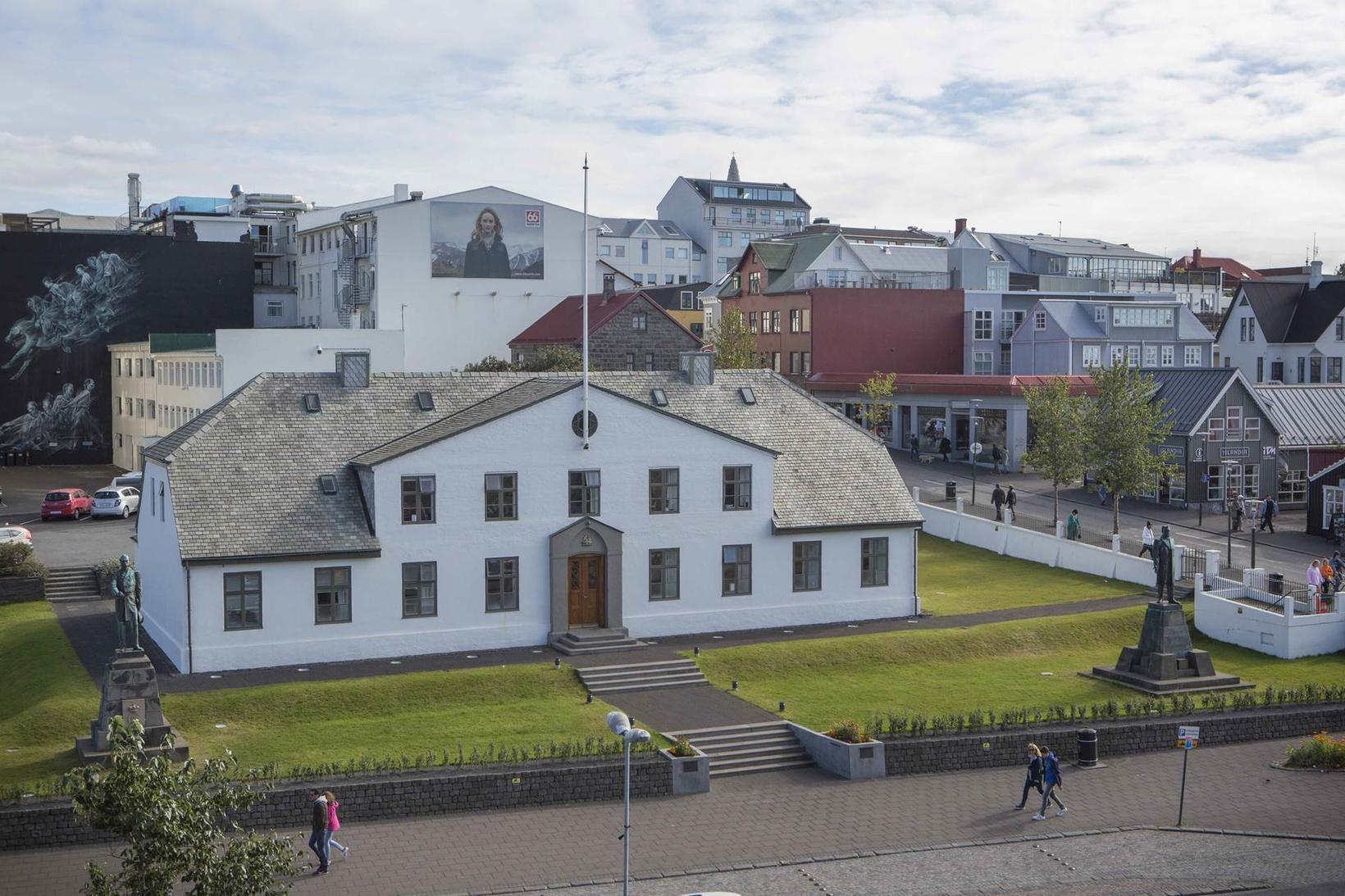 Fjallað er um breytingarnar á vef stjórnarráðsins.
