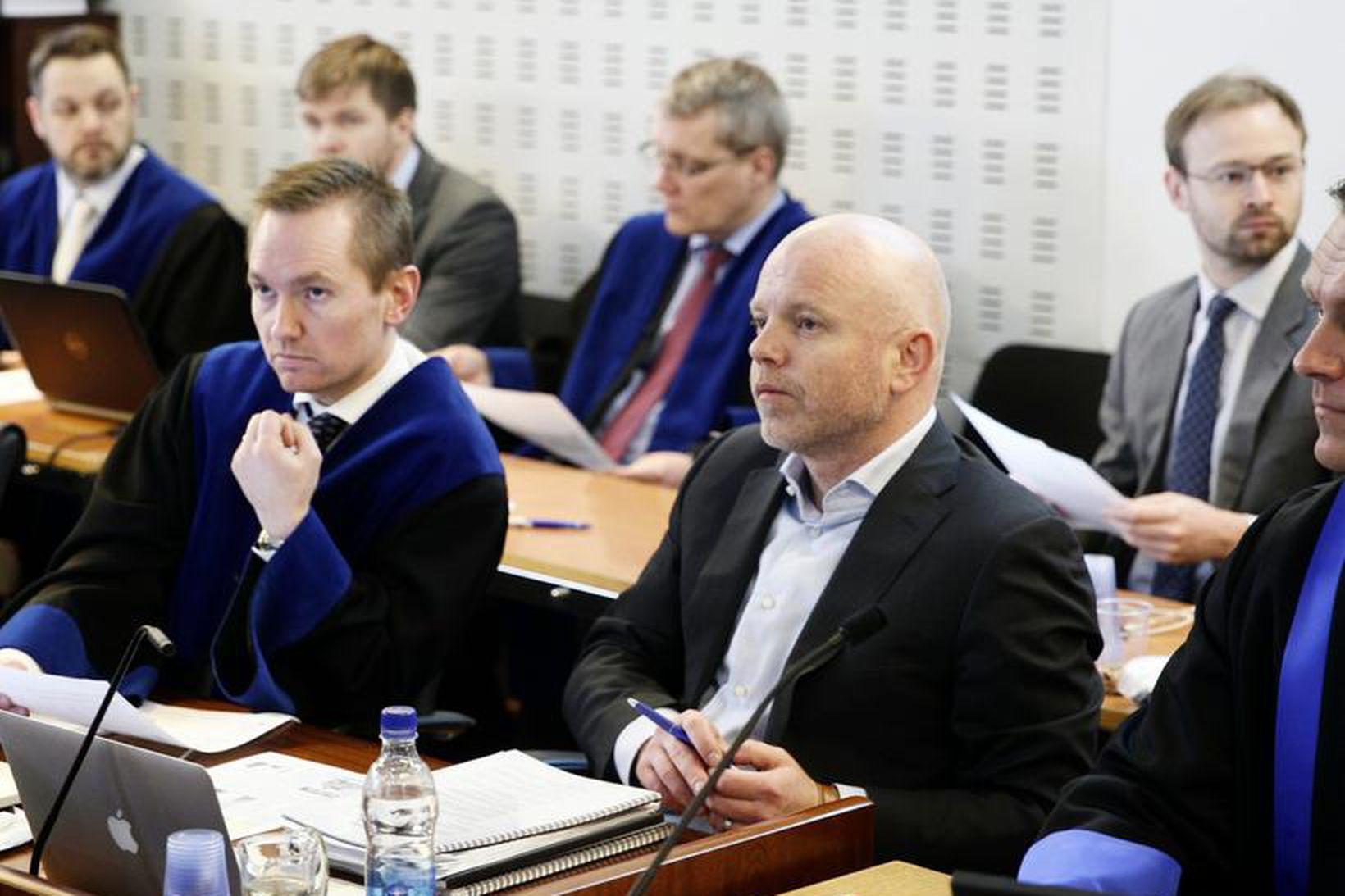 Ingólfur Helgason, fyrrverandi forstjóri Kaupþings á Íslandi, í Héraðsdómi Reykjavíkur …