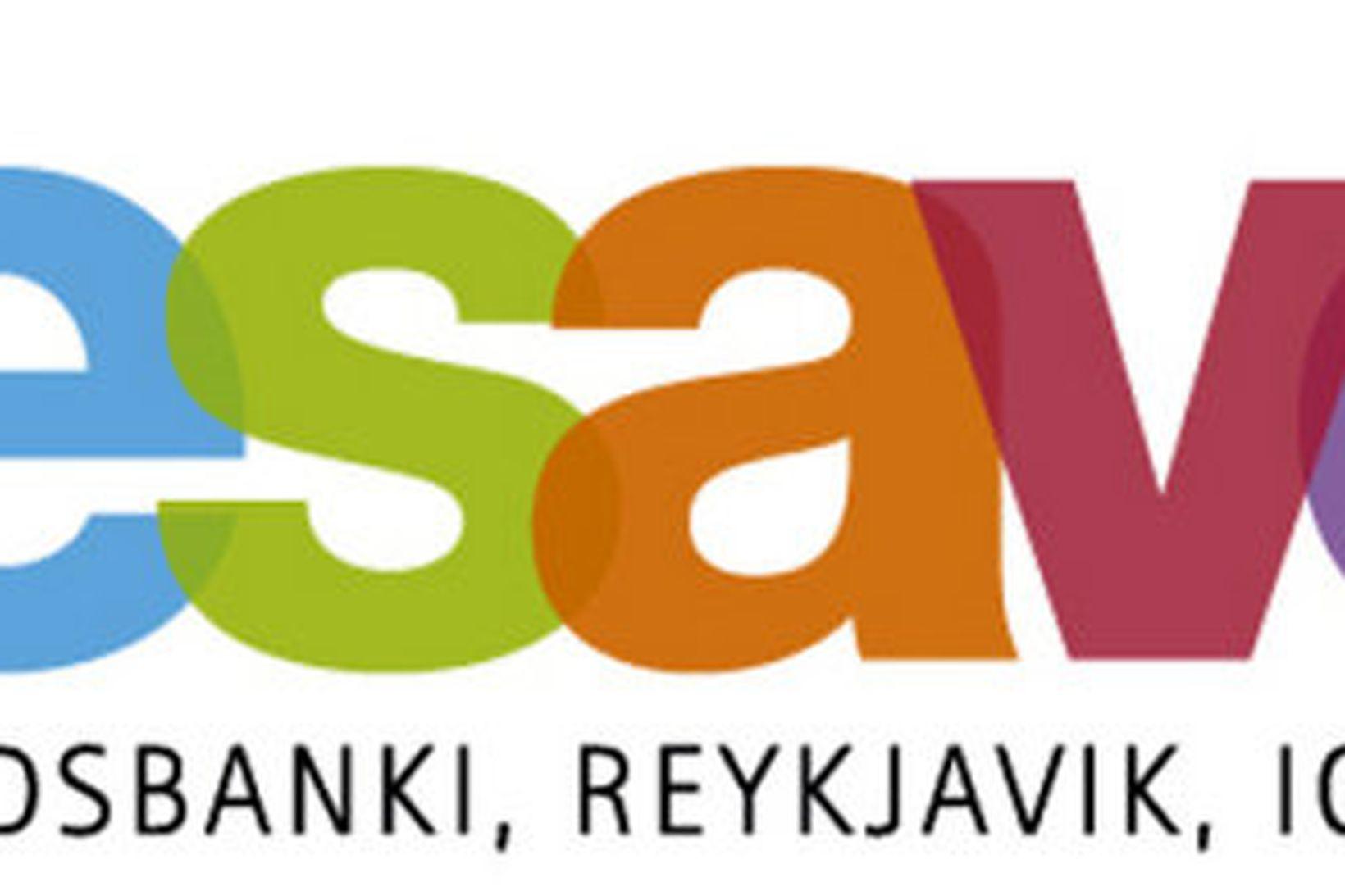 Icesave logo landsbankans