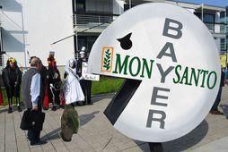 Umhverfissinnar hafa lengi fundið Monsanto flest til foráttu og hafa þeir hótað að færa mótmæli …