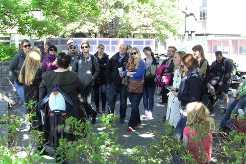 The Dark Deeds literary walk takes around and hour and half, it's free of charge and suitable for everyone.