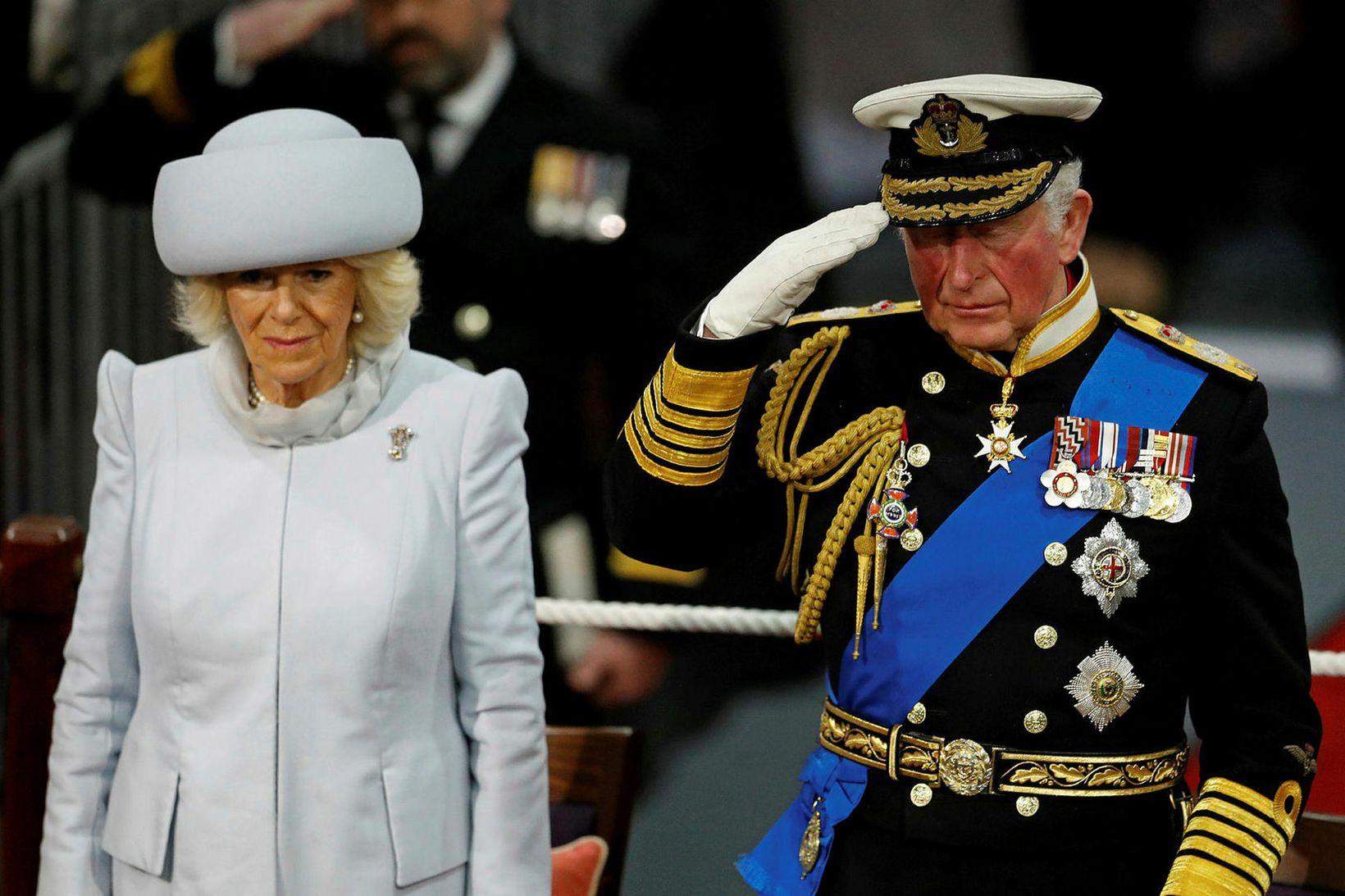 Camilla og Karl Bretaprins.