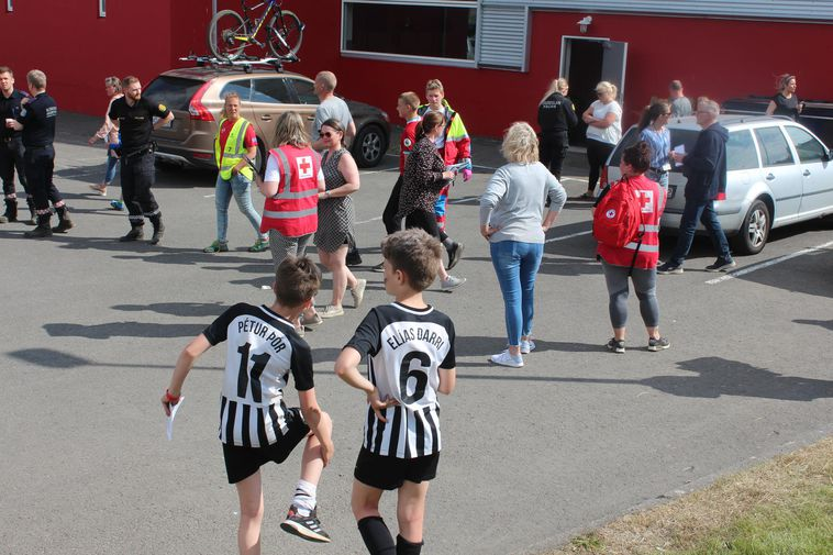 Children in Akureyri.