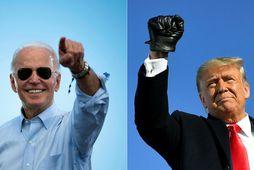 Joe Biden verður næsti forseti Bandaríkjanna.