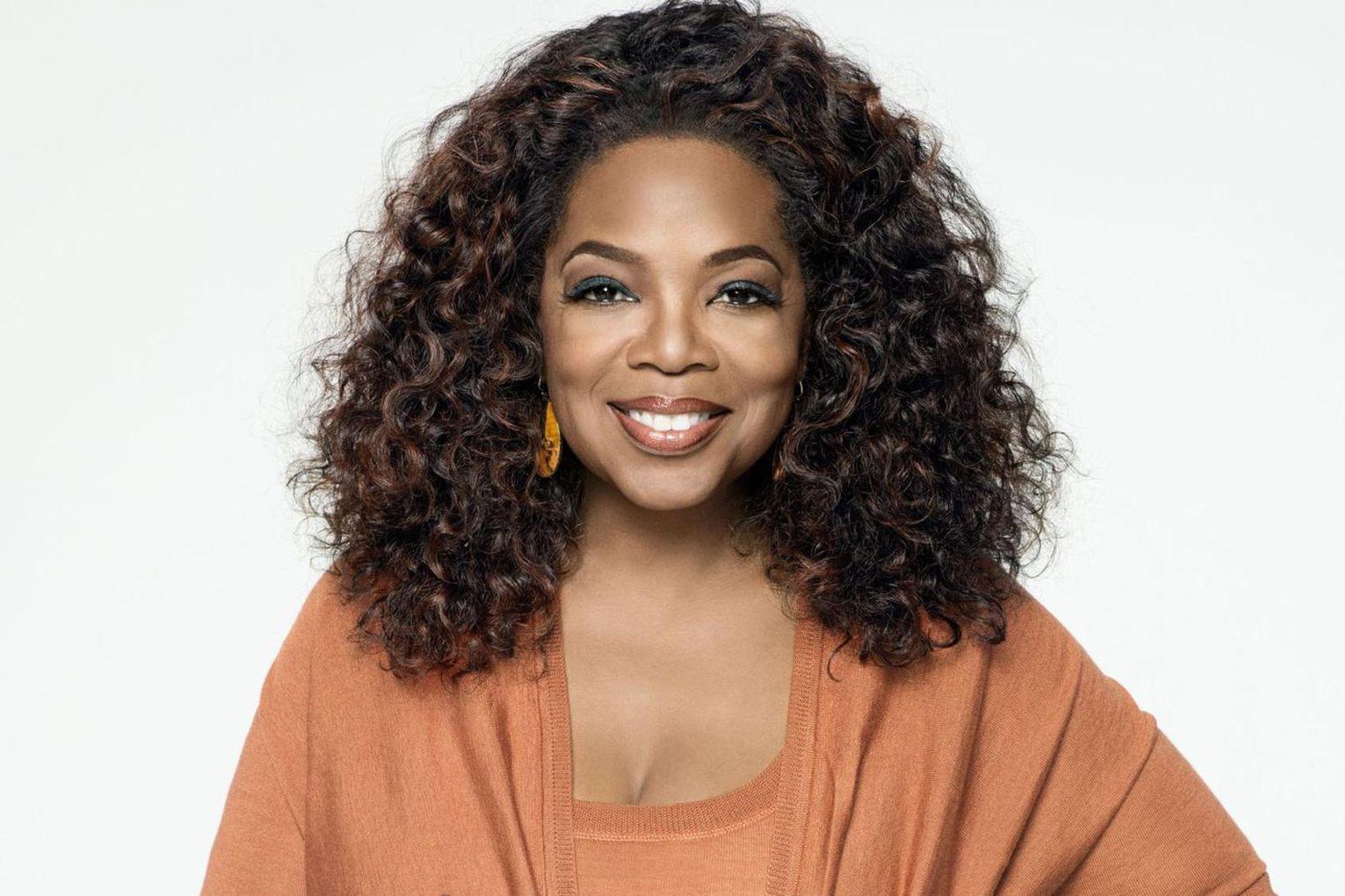 Fyrrverandi þáttastjórnandinn Oprah Winfrey er heldur betur að rækta garðinn …