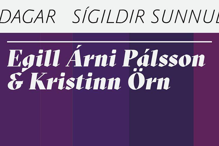 Egill Árni og Kristinn Örn - Classical Sundays