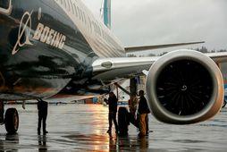 Boeing 737 MAX-vélarnar eru nú notaðar til að flytja fólk á milli áfangastaða í Evrópu …